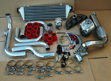 HONDA CIVIV D SERIES TURBO KIT CAST MANIFOLD+SSQV BOV+OIL FEED & RETURN+ T3/T4