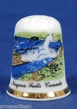 Niagara Falls, Canada China Thimble B/54