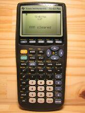 Texas Instruments Ti-83 Plus Calculatrice Graphique - Noir - Lycée / Superieur