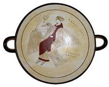 Ancient Greek Kylix Vase Museum Replica Reproduction