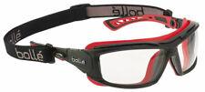 Bolle Ultim8 Safety Glasses Blackred Frame Foam Gasket Clear Anti Fog Lens