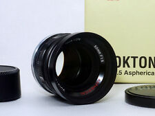N-Mint !   Voigtlander Nokton 50mm f/1.5 Aspherical Lens for Nikon S mount