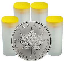 2017 Canada $5 1 oz. Silver Maple Leaf 4 Roll of 25 (100 Coins) SKU44170