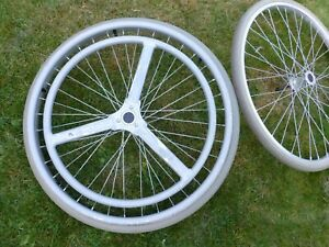Invacare Action 4NG Wheelchair parts - Quick release wheel 24x1 3/8 solid tyre