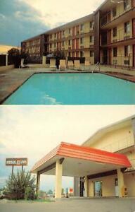 FARMINGTON, NM New Mexico  REGAL 8 INN MOTEL  Pool~Entrance  ROADSIDE  Postcard