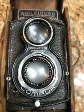 OLD RARE ROLLEICORD DPR VINTAGE 6x6 Medium Format Germany TLR film Camera