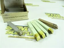 """New listing 14 New! Assorted Carbide Tipped Tool Bits 3/8"""" Shank D-6 Style C2 Gp & Qv Chtco"""