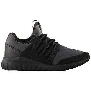 Adidas Tubular Radial J Junior Kids Boy Shoes Black