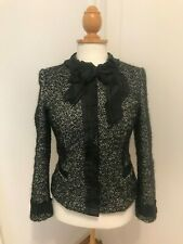 Original Dolce & Gabbana Jacke Designer Kurzmantel Gr. S (ca.36) Wollblazer
