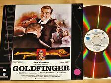 Laserdisc - James Bond 007 - Goldfinger - Sean Connery Gert Fröbe Honor Blackm