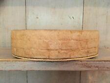 Indoor Oval shaped Ceramic Planter Sandstone Coloured Brick Effect Glazed Inside