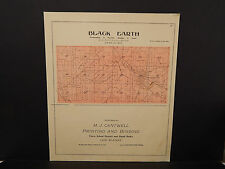 Wisconsin, Dane County Map, 1899 Township of Black Earth O2#06