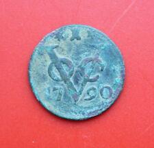 Países Bajos: VOC 1 Duit 1790, provincia Zeeland, # f 2285