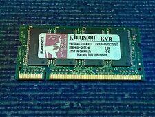 Memoria RAM ordenador portátil SODIMM 512Mb KVR266X64SC25 Kingston 2.5V