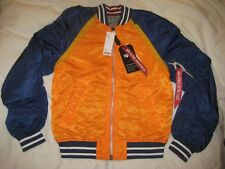 ALPHA INDUSTRIES L2B Reversible Raglan Flight Jacket SMALL NWT SOLD OUT!