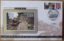2009 Ltd Ed Benham Error Cover - GWR  Great Western Express