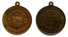 Medaglia Secondo Centenario Della Brigata Cuneo 1701-1901 Ricordo Della Città Di