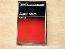 * MENTA & sigillato * Sinclair ZX81 / Timex 1000-SUPER math By Timex