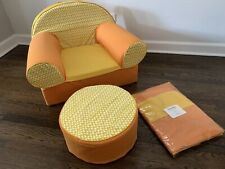 Crate & Barrel Kids - Land of Nod - The Nod Chair- Chair Cover Only - Orange