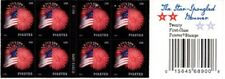 4855a Star Spangled Banner (Block Of 8 & End Cap) Mnh