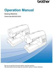 Brother Innov-is NQ575PRW NQ575 Sewing Machine Manual User Guide COLOR COPY