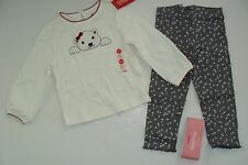 Gymboree Holiday Penguin Chalet Girls Size 18-24 Months Top Leggings NWT Polar