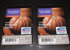 Better Homes & Gardens Scented Wax Cubes MIDNIGHT PUMPKIN PATCH / 2 Packs