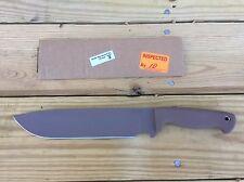 Busse Scrap Yard Knife Company SYKCO  Trash 2 Tan New