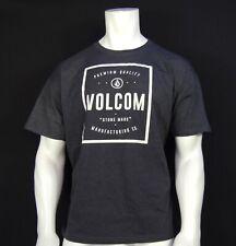 New listing New Volcom Surfing Crew Gray Stone Classic S/S Sport Mens T Shirt RVLC-187