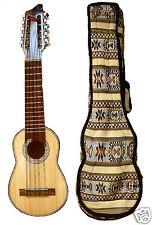 Sudamericano CHARANGO da La Paz Bolivia W caso 133 MUSICALI stringa Strumento