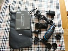 Braun MGK3080 9 in 1 Multi Face and Hair Grooming Trimmer Styling Body Kit
