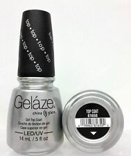 Gelaze da China Glaze - Smalto Gel Top Cappotto