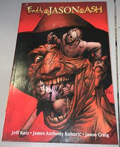 Freddy vs Jason vs Ash TPB Dynamite Wildstorm Volume 1 2008