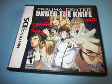 Trauma Center Under the Knife (Nintendo DS) Lite DSi XL 3DS 2DS w/Case & Manual