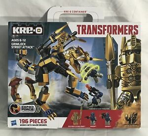 2014 Hasbro Kre-O Transformers GRIMLOCK STREET ATTACK Set A6955, Optimus Prime