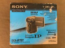 Sony Dcrip7Bt Ntsc MicroMv Digital Camcorder