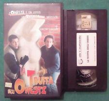 VHS FILM Ita Commedia LA TRUFFA DEGLI ONESTI vincent lindon ex nolo no dvd(VH73)