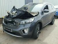 KIA SORENTO KX3 2016 2.2 DIESEL AUTO 4X4 BREAKING AIRBAGS X1 ALLOY WHEEL
