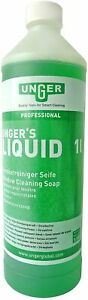 UNGER 1L Cleaning Soap for Cleaning Windows