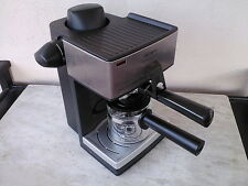 MR.COFFEE ECM160 STEAM ESPRESSO/ CAPPUCCINO MAKER