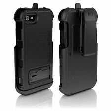 Ballistic HC0956-M005 Hard Core Case with Clip for Apple iPhone 5 - Black