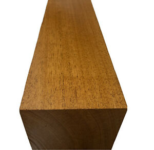 "Genuine Honduran Mahogany Turning Wood Blank, Pepper Mill blank 12"" x 4"""