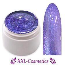 Glimmer Collection Farbgel UV Gel Shimmering Purple 5ml GG-02