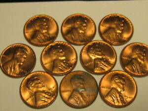 NICE BU Roll 1949-P Lincoln Cents