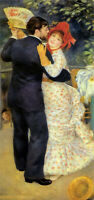 Oil painting Pierre Auguste Renoir - dance in the country hand painted on canvas