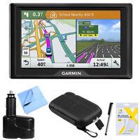 Garmin Drive 51 LM GPS Navigator (USA) with Driver Alerts Bundle