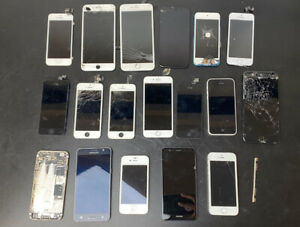 Huge Job Lot Mobile Phone Parts iPhone / Huwawei / Samsung for Spares / Repairs