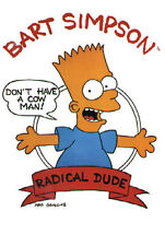 "THE SIMPSONS - TV SHOW POSTER / PRINT (BART: RADICAL DUDE) (SIZE: 24"" X 36"")"
