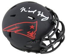 Patriots N'Keal Harry Authentic Signed Eclipse Speed Mini Helmet BAS Witnessed