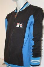 Fila Vintage Blau Settanta Bjorn Borg old School Jacke Sweater RETRO Blue John